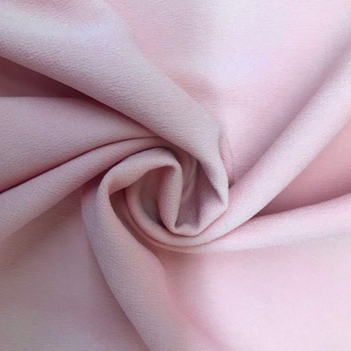 Dusty pink polyester silk