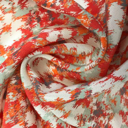 Printed Crepe Silk
