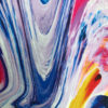 Abstract marble print