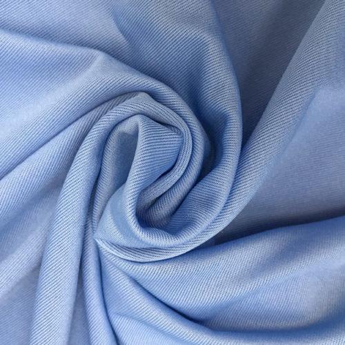 Blue viscose elastane
