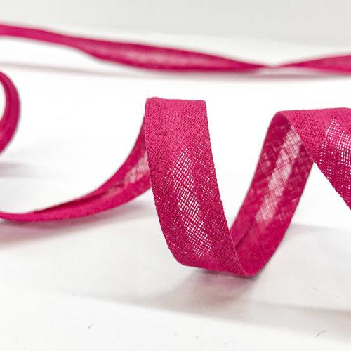 Pink bias binding