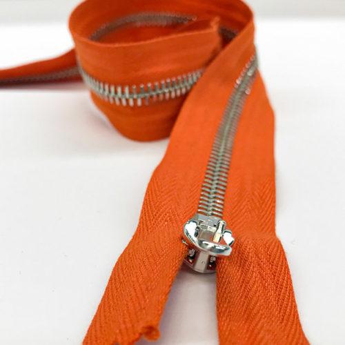 Orange zips