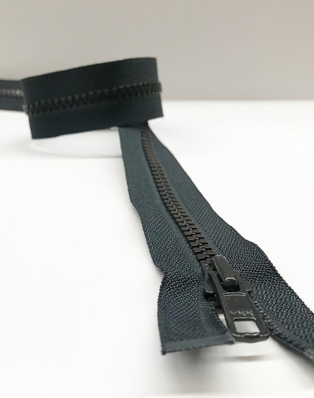 Charcoal zip 50cm