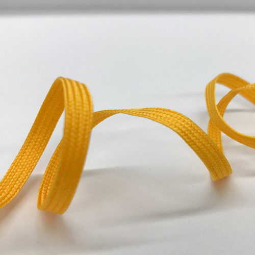Yellow lace cord