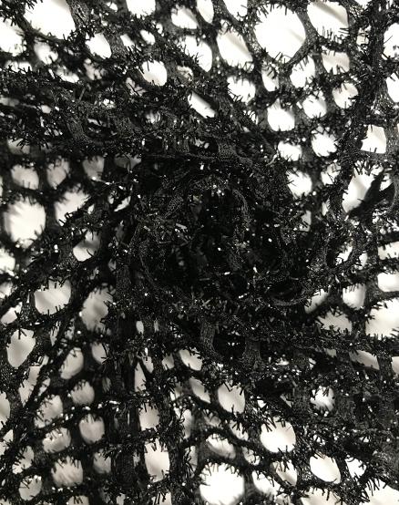 Spider web crochet