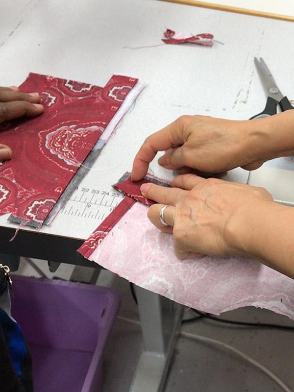 Level 1 stitching