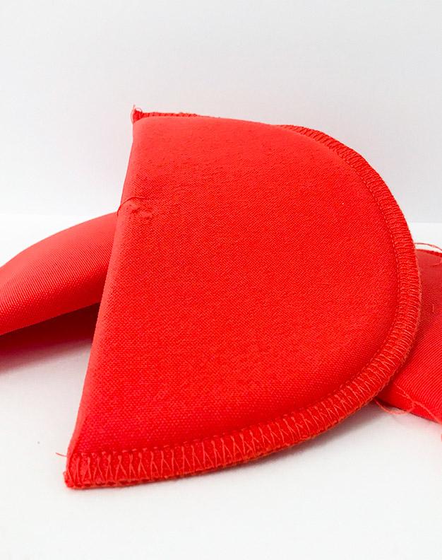 Orange Shoulder Pads