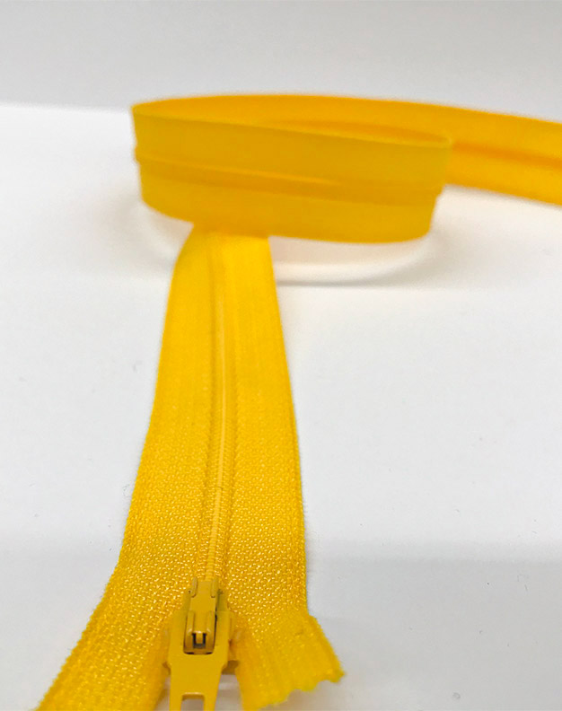 Yellow zip