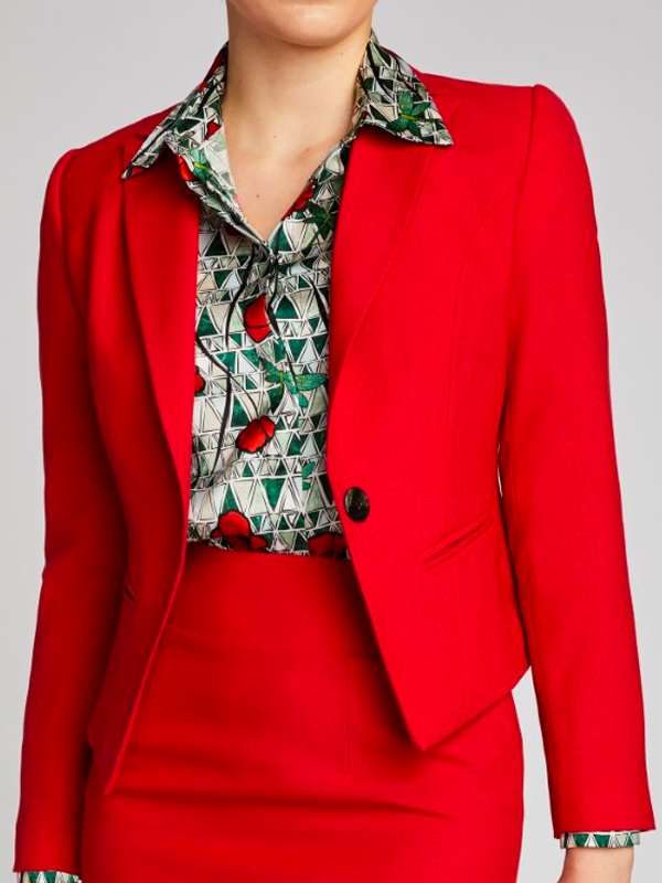 Tailored jacket pattern