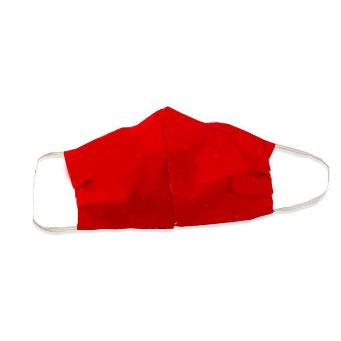 Crimson Red Face Mask