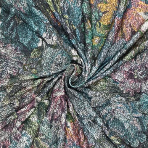 Abstract Print Spun Polyester