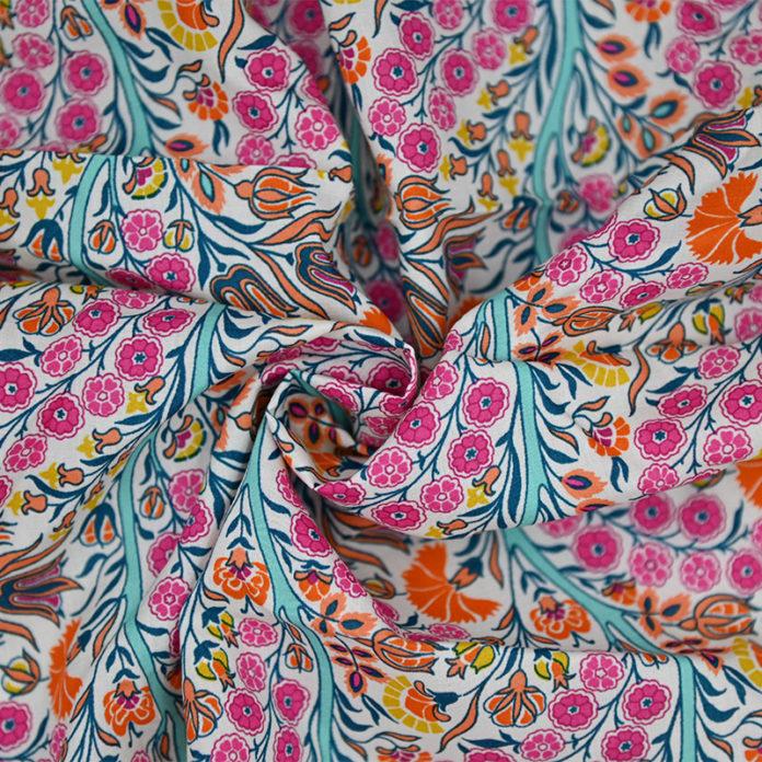 Luxury Floral print cotton