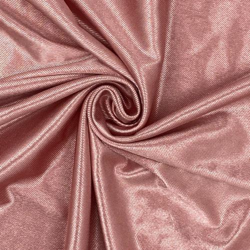 Pink satin crepe