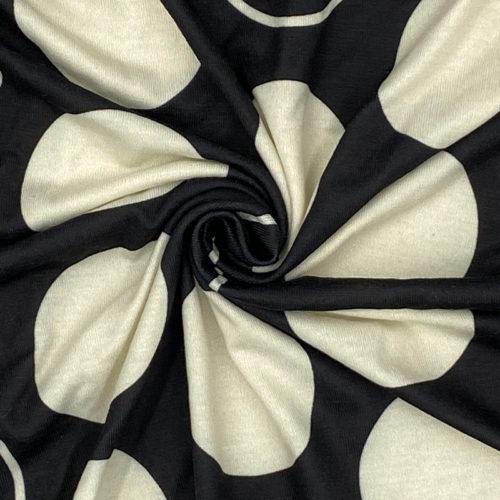 Abstract circle jersey