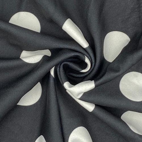 Black spotty jersey