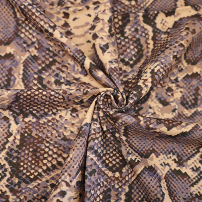 Snake Print Jersey