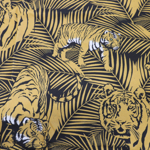 Sustainable Tiger Print Yellow Jersey